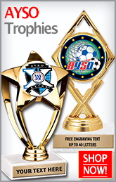 AYSO Trophies